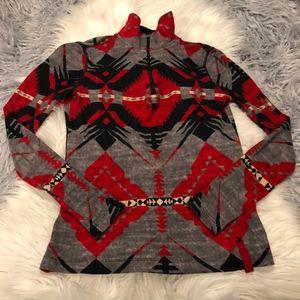 Lauren Ralph Lauren Active Aztec Pullover